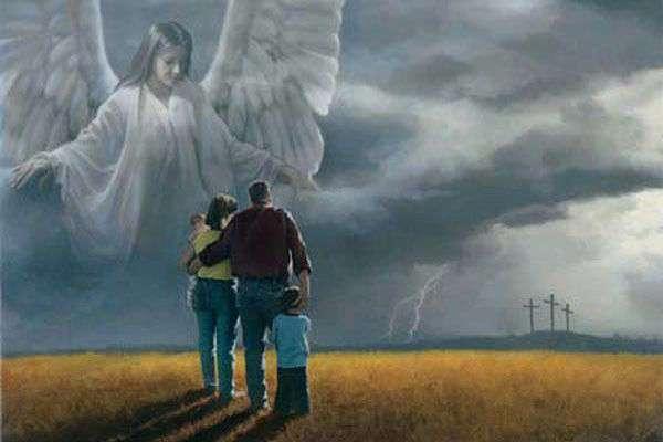 Ангелам своим заповедает о тебе и на руках понесут тебя