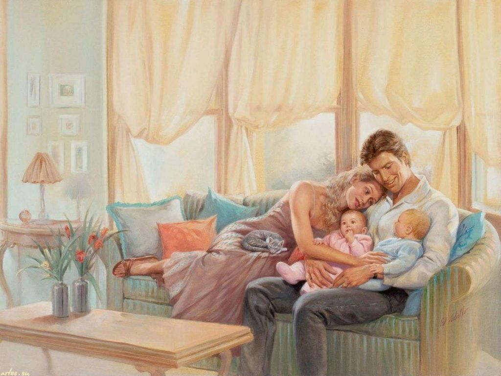 Поздравление уюта в семье